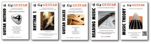 A structured system for learning guitar