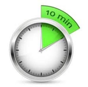 10 mins a day