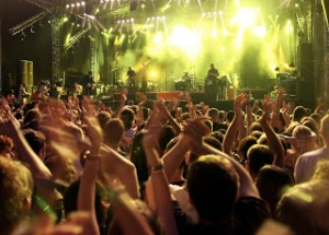 bigstockphoto_Crowd_on_rock_concert_784673
