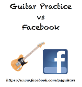 Guitar or Facebook