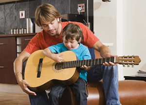 Parent and child guitar