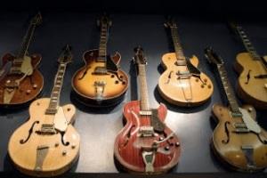 bigstockphoto_Vintage_Guitars_4769948