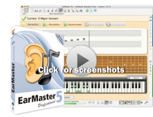 Earmaster Aural training software