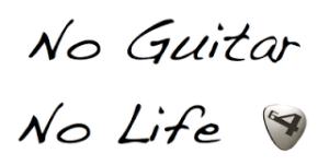 No guitar no life